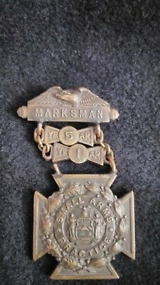 New York Army National Guard Marksman's Medal