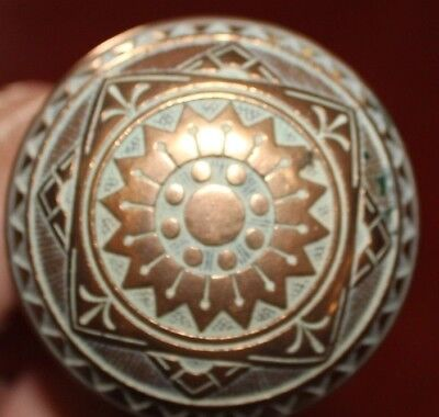 antique knob door art deco victorian brass ornate fancy vintage house hardware