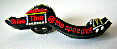 McDONALD'S DRIVE THRU AT THE SPEED OF McDONALD'S TIE TACK HAT SHIRT PIN