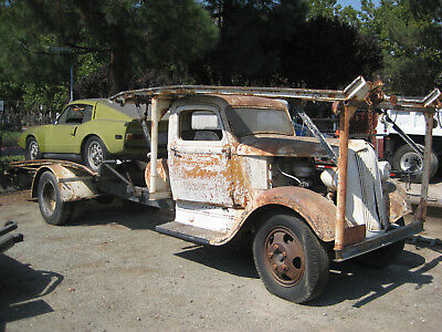 DODGE TRUCK Vintge  car hauler 1936   Running condition unknown  #### truck only