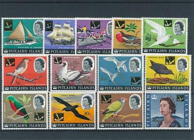 [121958] Pitcairn Is. 1967 good set of stamps very fine MNH $40