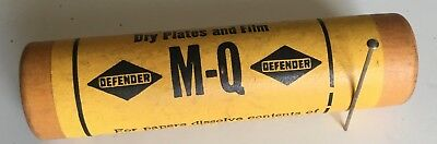 Defender Photo Supply M-Q vintage photographic processing powder