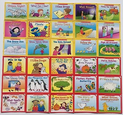 LOT 30 Learn To Read Easy Reader Children's Books PreK Kindergarten Levels A B