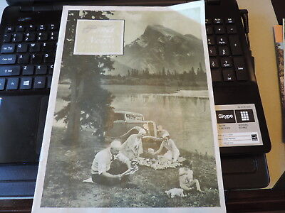 1934 Ford News Magazine Booklet incl Hunting Wolves With a V-8 De Smet SD Cummin