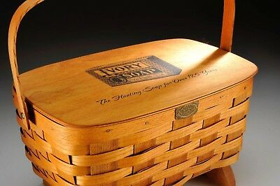 Collectible Peterboro Basket Celebrating 125 Years of Ivory Soap