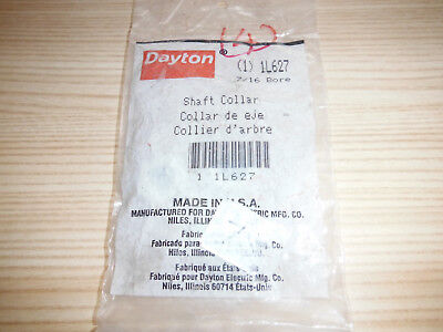 """Dayton 1L627 7/16"""" Bore Shaft Collars 3 of Them Made in USA Free Shipping"""