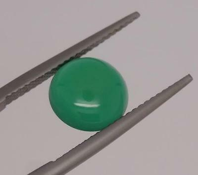 *2.60Ct Loose Natural Chalcedony Round Cabuchon Cut Gemstone*