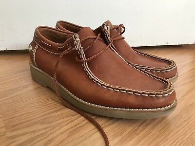 VTG Weeds By Florsheim Handsewn USA Moccasins Loafers Quoddy Red Wing Sperry