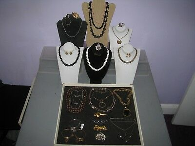 VTG or New Misc.Large lot of Signed Jewelry See discription & Pics Must see