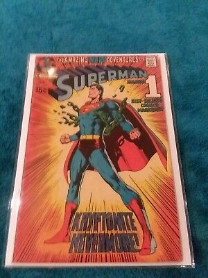 Superman #233 Classic Superman Neal Adams Breaking Chain Cover