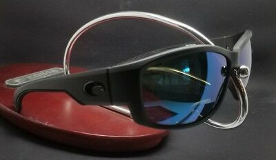 5f5bffd658 COSTA DEL MAR Luke LK-01 Blackout frame Blue Mirror 580P Poly lens ...