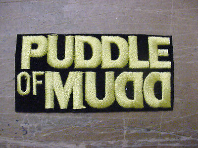 Vintage Lot Of 3 Puddle Of Mudd  Iron On Embroidered Patch Rock Band 1990's