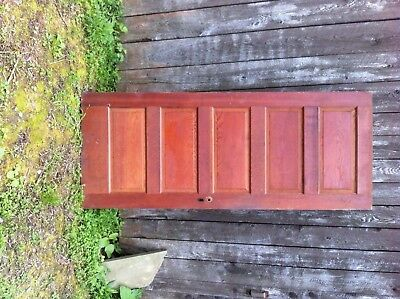 4 antique oak (?) doors, some with hardware - 1880s - 1920?