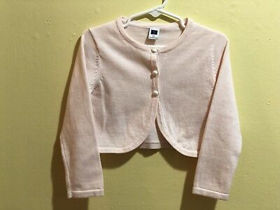 Janie and Jack Pirouette Petals Pink Cardigan Sweater size 2T