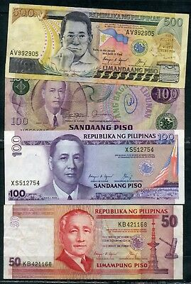 Weeda Philippines Banknote collection, high grades, see scans
