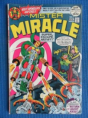Mister Miracle # 7 - (Vf) - Return Of Agent Axis
