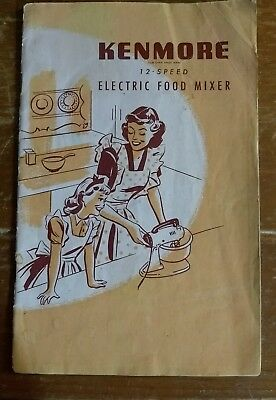 VINTAGE MANUALS and COOKBOOKS Kenmore, Saladmaster, Osterizer, Weber