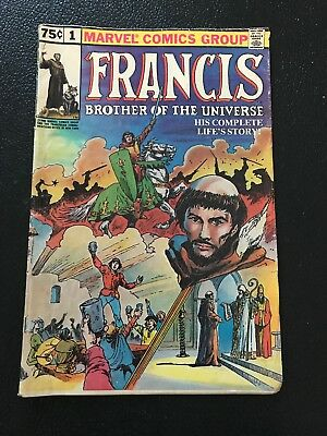 Antique Comic Book - Francis Brother Of The Universe - Vol. 1 No. 1 1980