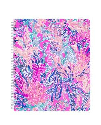 Lilly Pulitzer NEW Aquadesiac Large Notebook