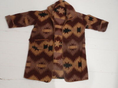 Vintage Indian Design Camp Blanket Style Child's Cotton Bathrobe