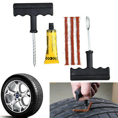 Safety Car Bicycle Auto Tubeless Tire Tyre Puncture Plug Repair Tool JQ Sales