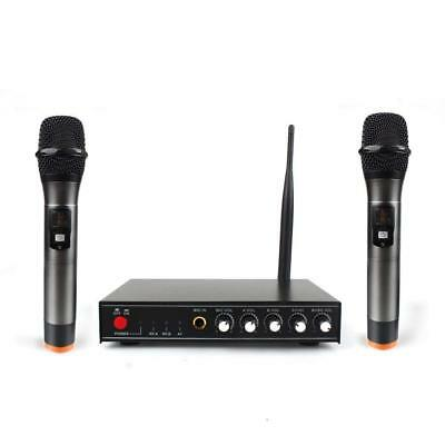Professional Wireless Microphone System for Karaoke Machine with Receiver to...