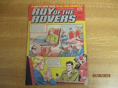 December 31st 1983, ROY OF THE ROVERS, Jack McClelland, Paul McStay, Paul Walsh.