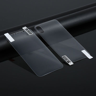 Front + Back Clear TPU Screen Protector Film For Apple iPhone XS Max XR 8 7 Plus
