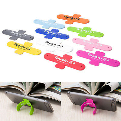 New Mobile Phone Bracket Smartphone Touch U Silicone Stand Holder Universal