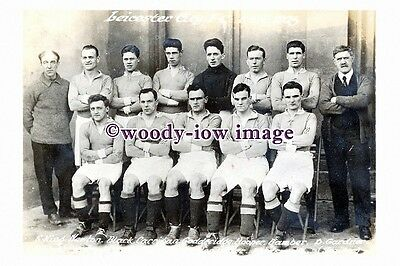 rp13074 - Leicester City Football Team 1924-25 - photograph 6x4