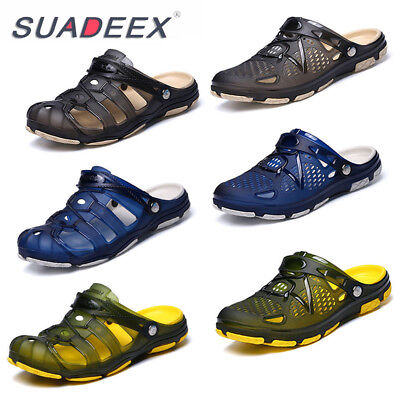 Mens Flip Flop Clogs Slippers Sandals Summer Beach Outdoor Slip on Shoes