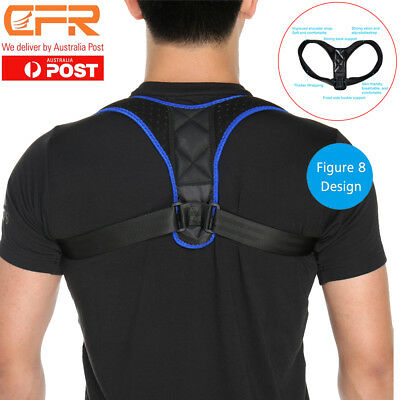 Universal Posture Corrector Clavicle Support Back Straight Shoulders Brace Strap