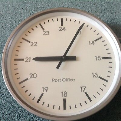 Vintage GPO Post Office Electric Wall Hanging Clock