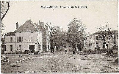 MARMANDE (47) - Route de Tonneins