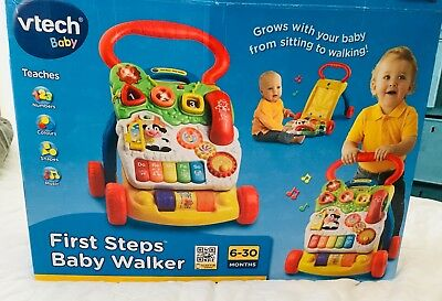 Vtech First Steps Baby Walker New In Box 6-30 months Grab a bargain!