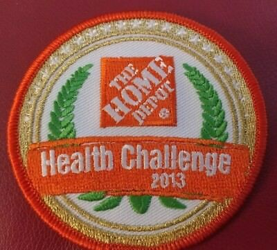 Home Depot Health Challenge - Gold Medal Patch 2013