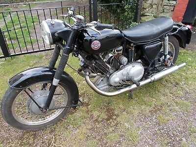 panther 650cc buff log book v5 120s 1963 stored 20 years run and rides 4 keepers