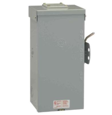 Emergency Power Transfer Switch 100 Amp 240 Volt Double Throw Non Fused Manual