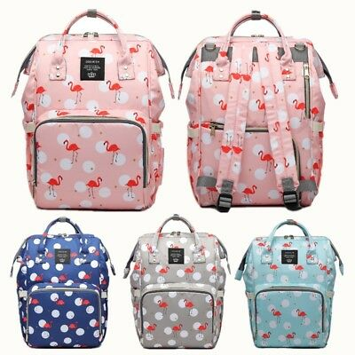 LEQUEEN Mummy Baby Bag Backpack Maternity Diaper Nappy Large Capacity Travel Bag