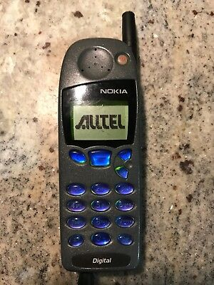 Vintage Nokia 5185 IVA Verizon Cell Phone With Battery & Charger