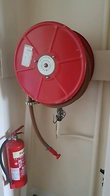100ft Fire Hose Reel With Hose and bracket