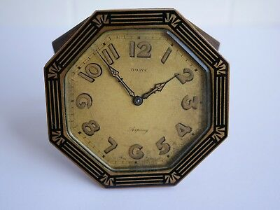 Vintage Asprey Swiss Made Clock (Doxa Movement)