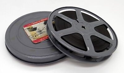 Vintage Three Bruins Go Camping - Cartoon 16Mm Cine Film #796Ms