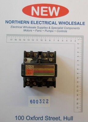 Vintage Mte Uco10 Contactor 3 Phase 32A 600V Max 25-60 Hz (600322)