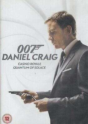Casino Royale & Quantum Of Solace James Bond 007 Daniel Craig - NEW Region 2 DVD