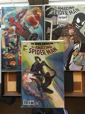 NM Amazing Spider-Man 798 Set 1st Red Goblin Alex Ross Guns Venom Variants