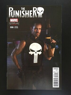 Punisher #6 2016 1:15 Cosplay Variant Cover