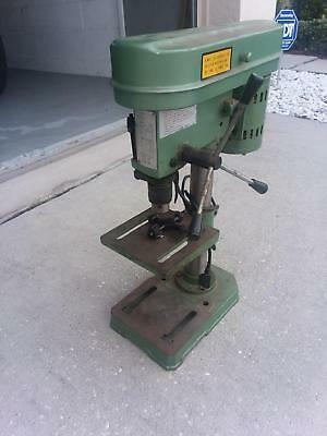CENTRAL MACHINERY S-5901 5 Speed Bench Drill Press 60 Hz Spindle Speed