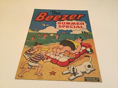 Beezer Summer Special VGC Near Mint
