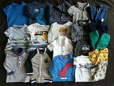 Bundle Of Baby Clothes: Size 9 - 12 Months (Joules, M&S, Next etc - 21 items)